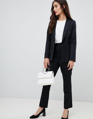 Reiss classic tailored slim leg trousers