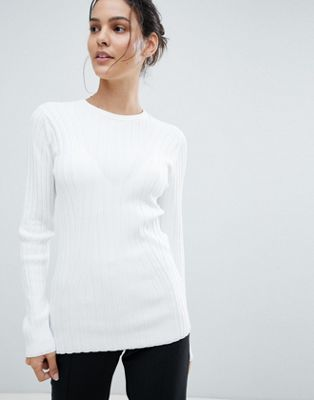 Reiss Ribbed Turtleneck Top