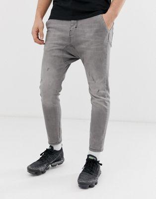 Bild 1 av Religion – Ankellånga, stretchiga jeans med låg gren och extra smal passform