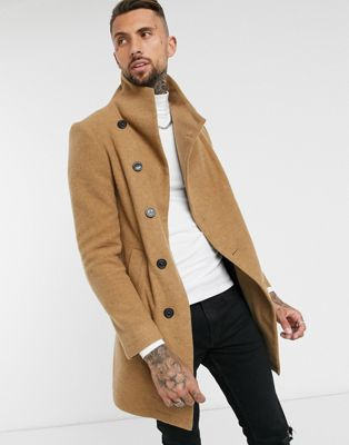 Religion military coat in dark green - ASOS Price Checker