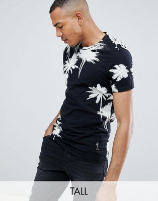 Religion Muscle Fit T-Shirt With Palm Print