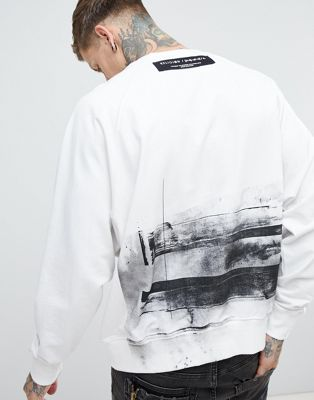 Religion Oversized Sweatshirt With Back Print