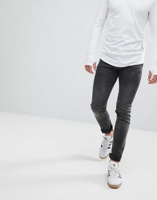 Religion Skinny Fit Jean With Twisted Seam
