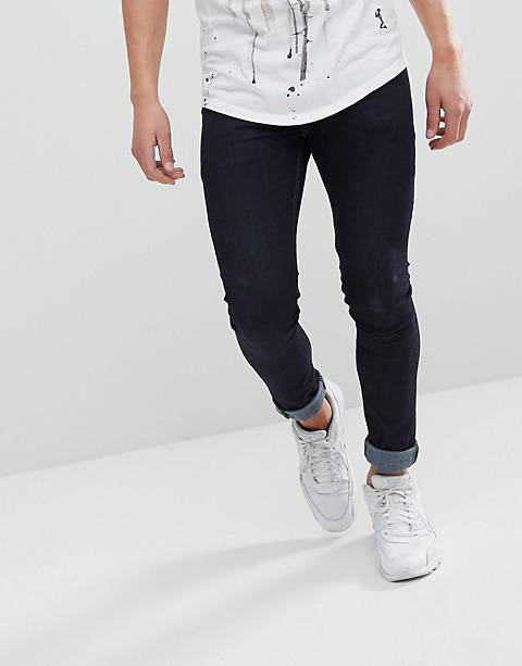Religion Skinny Fit Jeans In Dark Wash