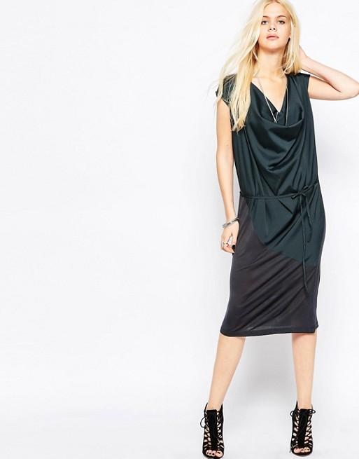Image 1 of Religion Social Drape Dress