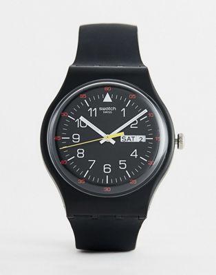 Reloj negro SUOB724 Yokorace de Swatch