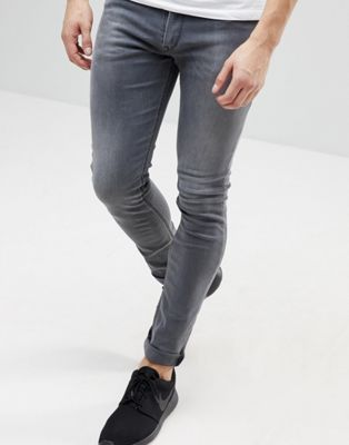 Replay Jondrill Skinny Jeans Grey