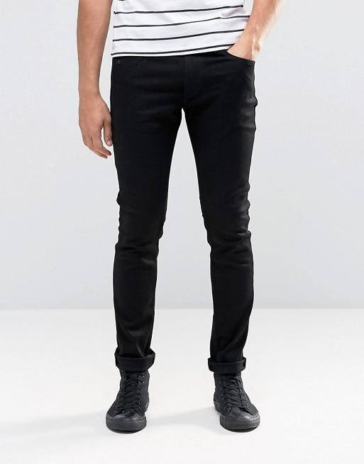 Replay Jondrill Skinny Jeans Stretch Clean Black