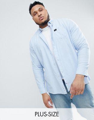 Replika – Plus – Blaues Oxford-Hemd