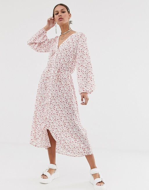 Resume Olivia Floral Midi Dress by Résumé