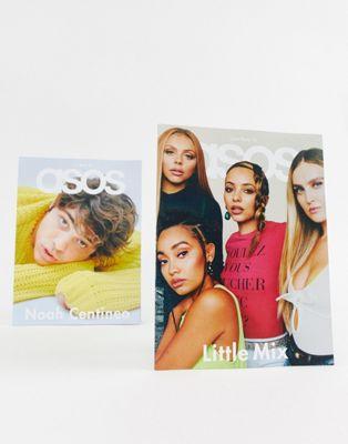 Revista ASOS MAGAZINE (edición francesa), número Fiestas 18 con Noah Centineo y Little Mix