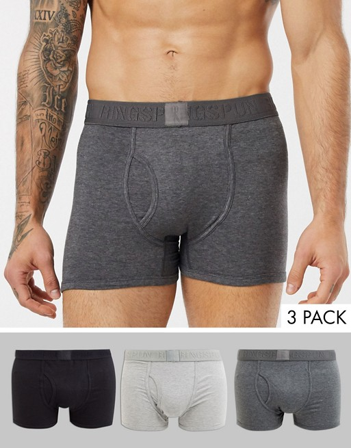 Image 1 of Ringspun 3 pack trunks
