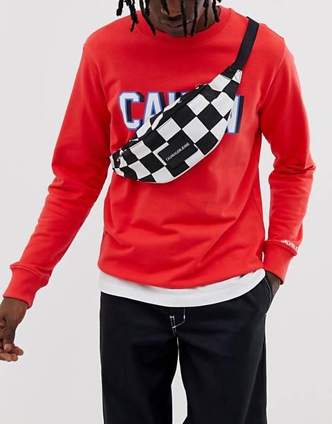 Riñonera con diseño de tablero de ajedrez Sport Essential de Calvin Klein Jeans