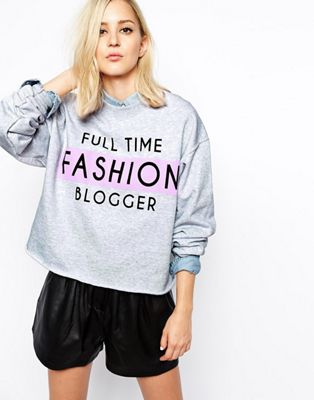 River Island Blogger Sweatshirt
