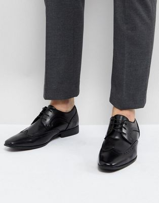 River Island Brogues In Black