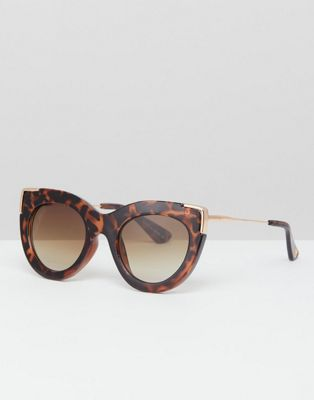 River Island cat eye tortoiseshell sunglasses
