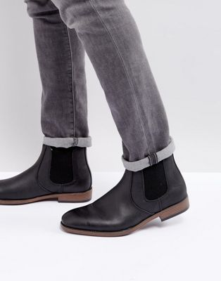 River Island Chelsea Boots In Black