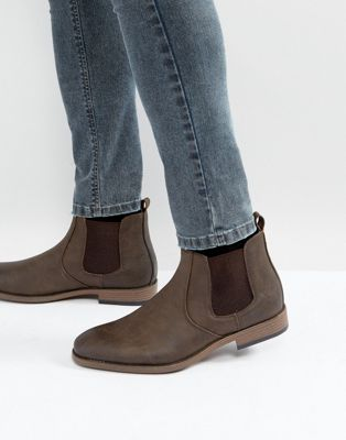 River Island Chelsea Boots In Brown