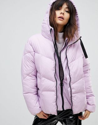 Image 1 of River Island Double Layer Padded Jacket