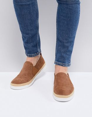 River Island Espadrille In Tan