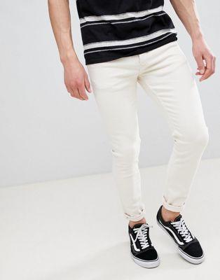 Immagine 1 di River Island - Jeans skinny écru