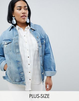 River Island Plus Denim Jacket