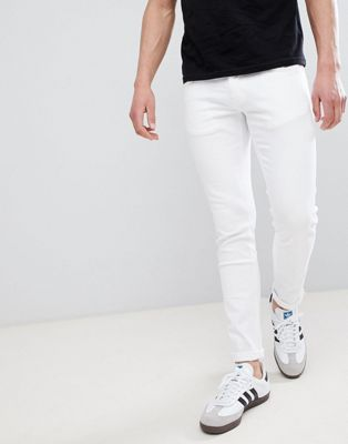 River Island Skinny Jeans In White