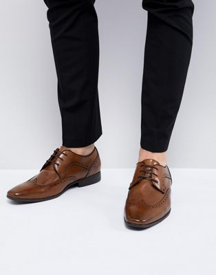 River Island Smart Brogues In Tan
