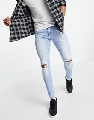 River Island tapered jeans in washed black - ASOS Price Checker