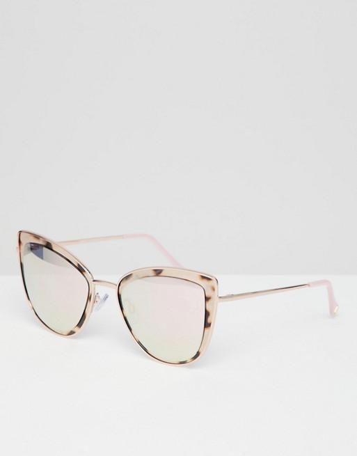 c571afe887f River Island tortoise shell cat eye sunglasses