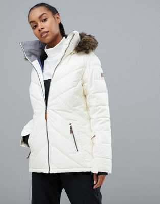 Roxy - Quinn - Veste de ski -  Blanc