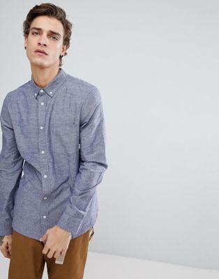 Рубашка из шамбре Element