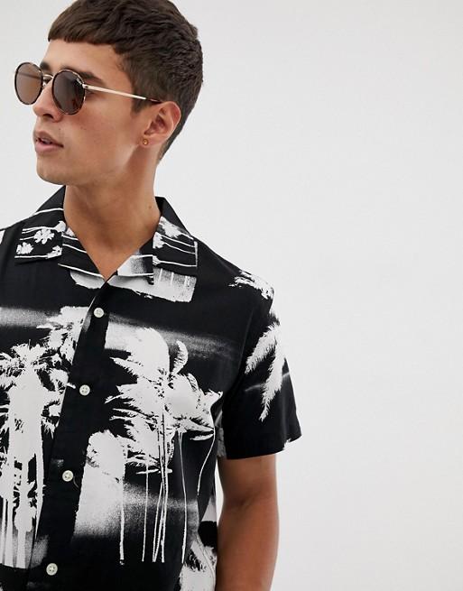 Изображение 1 из Рубашка с отложным воротником и короткими рукавами Jack & Jones Originals