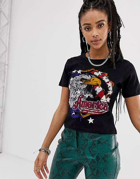 Sacred Hawk fitted t-shirt with vintage eagle graphic