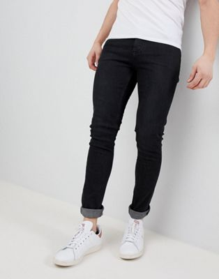 Image 1 of Saints Row Super Skinny Jeans in Washed Black