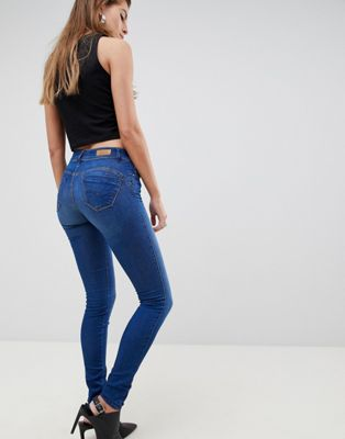 Image 1 of Salsa wonder push up mid rise skinny jean