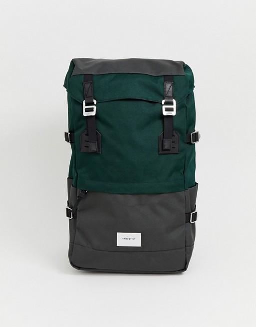 Bild 1 av Sandqvist – Harald – Grön ryggsäck