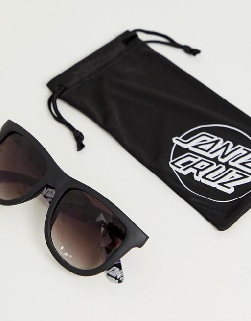 31bd6e828411 Santa Cruz Other Dot sunglasses in black/purple | ASOS