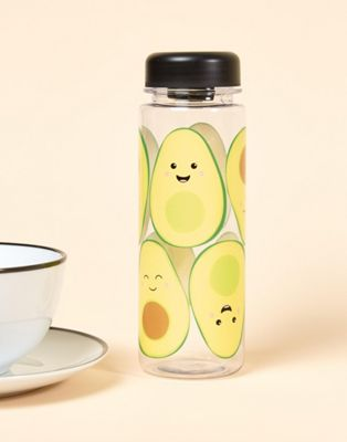 Sass & Belle avocado drinks water bottle 550ml