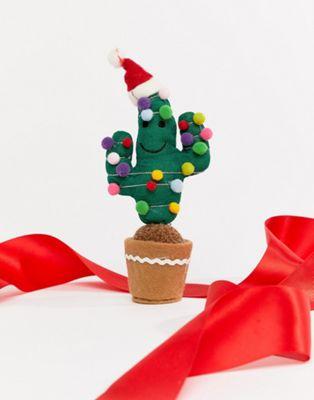 Sass & Belle - Décoration de Noël forme cactus