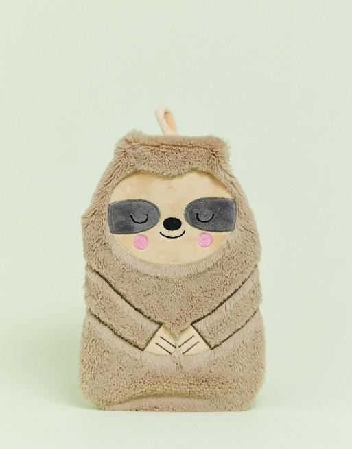 Sass & Belle sloth hot water bottle