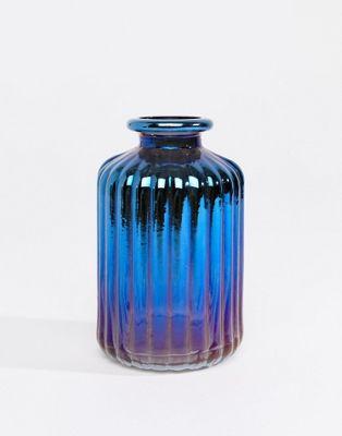 Sass & Belle - Vase de Noël effet tache de pétrole