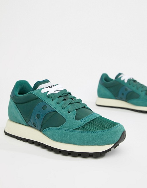 Image 1 of Saucony Jazz Original Vintage green Sneakers