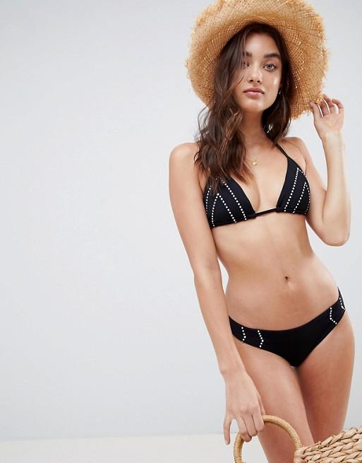 Bild 1 av Seafolly – Svart bikiniunderdel i brazilianstil