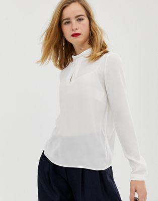 Selected Femme – Blus med polokrage