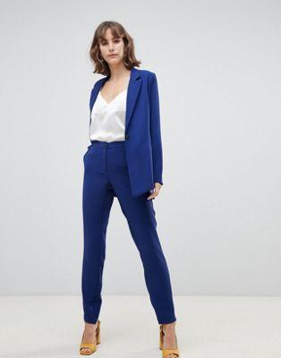Image 1 of Selected femme split hem pants