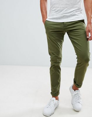 Selected Homme Chinos In Skinny Fit