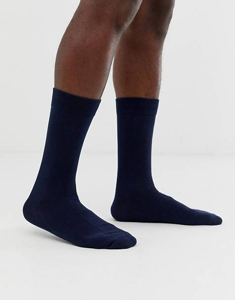 Selected Homme classic sock in navy