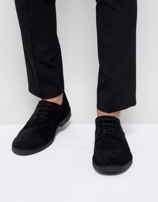 Selected Homme Desert Shoe In Black