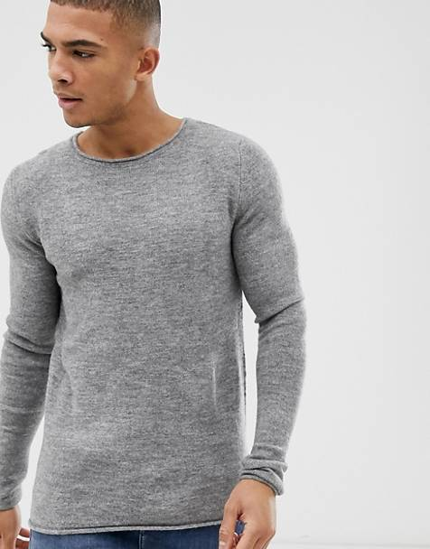 Selected Homme knitted crew neck sweater